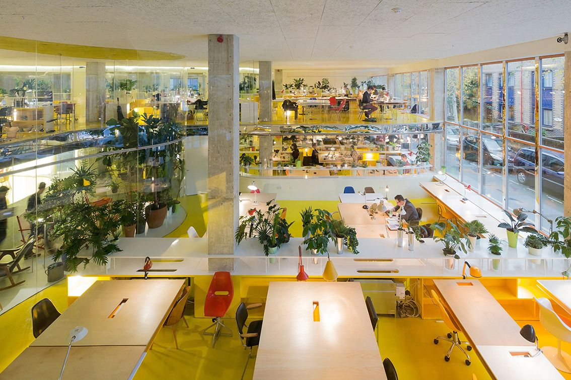 Second Home Lives And Breathes The Concept Of Collaborative Workspace Which They Describe As Building A Diverse Ecosystem Creative People